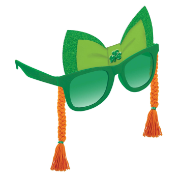 Picture of WEARABLES - ST PAT'S BRAIDS FUN SHADE - GLASSES