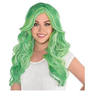 Picture of WEARABLES - MAGICAL GREEN LONG WIG