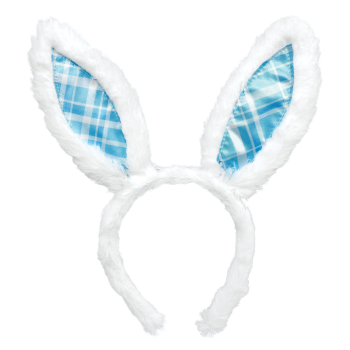 Picture of WEARBLES - BUNNY EARS BLUE PLAID