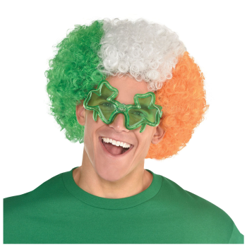 Picture of WEARABLES - IRISH FLAG AFRO WIG