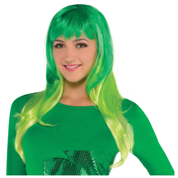 Picture of WEARABLES - GREEN OMRE WIG
