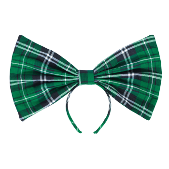 Picture of WEARABLES - PLAID OVERSIZED BOW HEADBAND