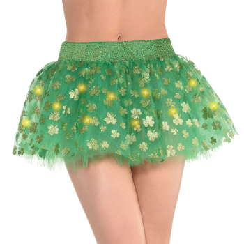 Picture of WEARABLES - LIGHT-UP GREEN TUTU