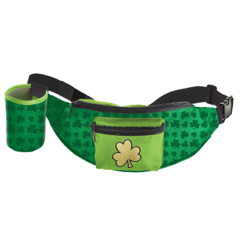 Picture of WEARABLES - ST PAT'S FANNY PACK WITH BEVERAGE HOLDER