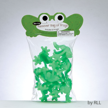 Picture of PASSOVER - BAG OF FROGS