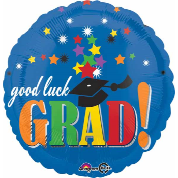 Picture of 18'' FOIL - GOOD LUCK GRAD