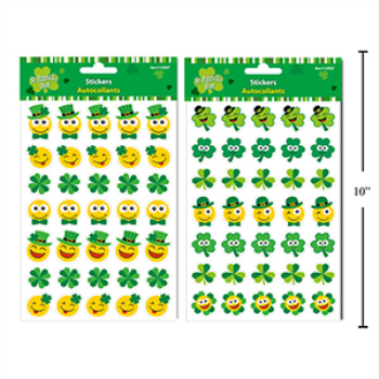 Picture of DECOR - ST PAT'S FOIL STICKERS