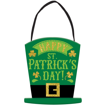 Picture of DECOR - HAPPY ST PAT'S MINI GLITTER SIGN