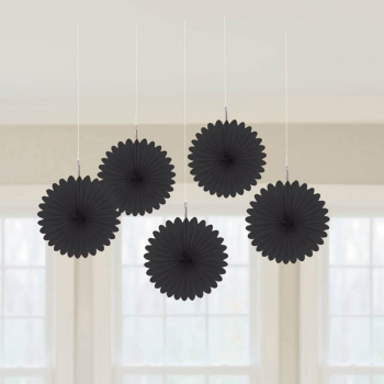 "Picture of BLACK 6"" MINI HANGING FAN"