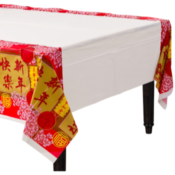 Picture of TABLEWARE - CHINESE NEW YEAR BLESSINGS TABLE COVER