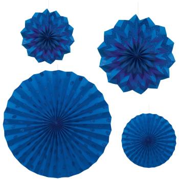 Image de BLUE PAPER FANS - ASSORTEC SIZES