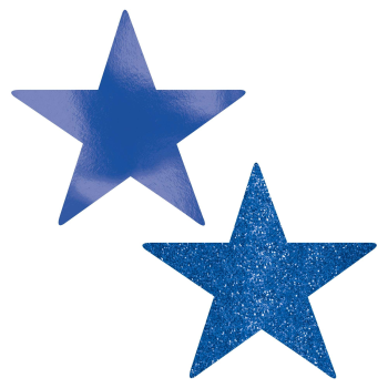 "Picture of BLUE 5"" STAR CUTOUT"
