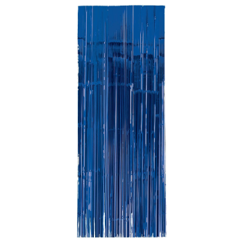 Picture of BLUE METALLIC CURTAIN - 3'X8'