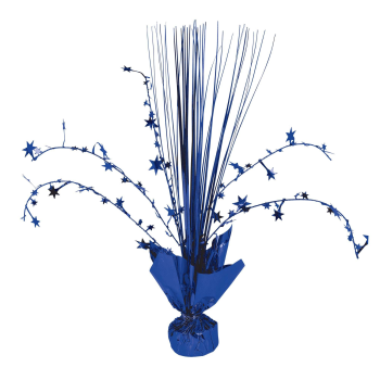 "Picture of BLUE 12"" SPRAY CENTER PIECE"