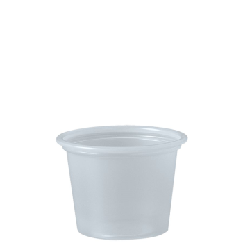 Picture of COCKTAIL - Clear - 1oz Plastic Flexi Portion Cups (jello shooters)