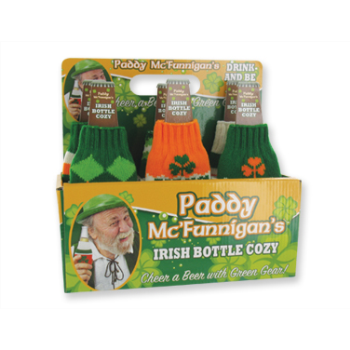Picture of DECOR - ST PATS IRISH BOTTLE COZIE