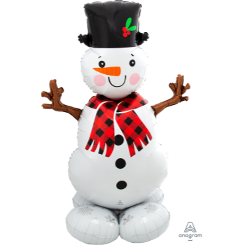 Picture of AIRLOONZ - SNOWMAN - AIR FILLED
