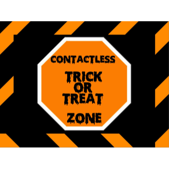 Picture of LAWN YARD SIGN - HALLOWEEN ENGLISH