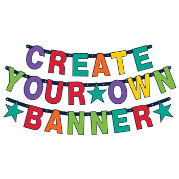 Picture of DECOR - Rainbow Create Your Own Banner