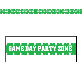 """Picture of FOOTBALL - """"Game Day"""" Football Party Tape"""
