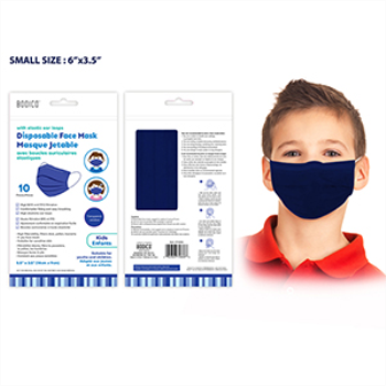 Picture of MASKS - KIDS DISPOSABLE MASK - NAVY