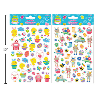 Picture of DECOR - EASTER STICKERS