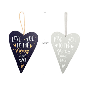 Picture of DECOR - VALENTINE'S HANGING HEART DECORATION
