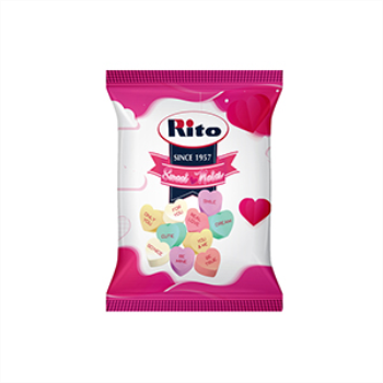 Picture of DECOR - CANDY HEART SHAPED NOTE CANDY