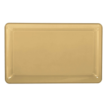 Image de SERVING WARE - TRAY GOLD - 11 X 18
