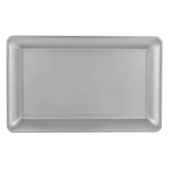 Image de SERVING WARE - TRAY SILVER - 11 X 18