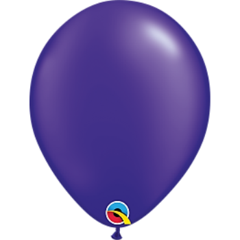 "Picture of HELIUM FILLED SINGLE 11"" BALLOON - PEARL PURPLE"