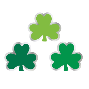 Picture of DECOR - ST PAT'S MINI VALUE CUT OUTS