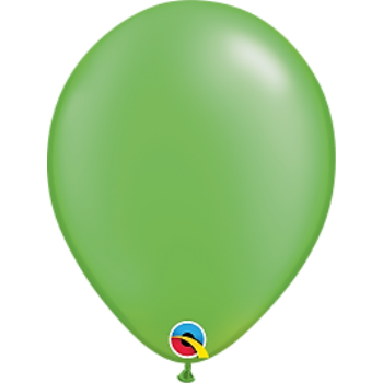 "Picture of HELIUM FILLED SINGLE 11"" BALLOON - PEARL LIME"
