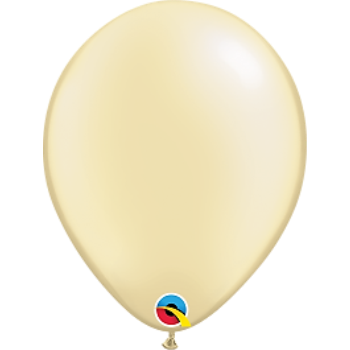 "Picture of HELIUM FILLED SINGLE 11"" BALLOON - PEARL IVORY"