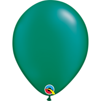 "Picture of HELIUM FILLED SINGLE 11"" BALLOON - PEARL EMERALD GREEN"