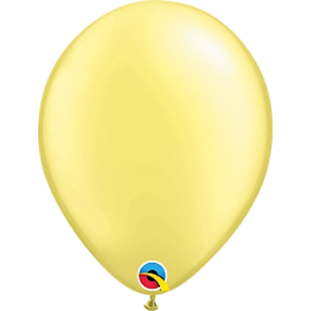 "Picture of HELIUM FILLED SINGLE 11"" BALLOON - PEARL LT YELLOW"