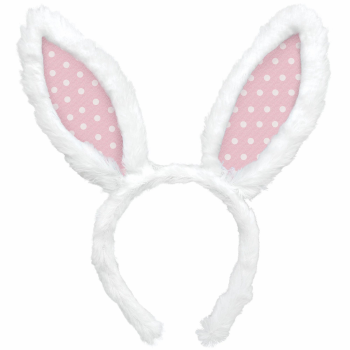 Picture of WEARABLES - BUNNY EARS - POLKA DOT