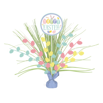 Picture of DECOR - EASTER PASTEL SPRAY CENTER PIECE