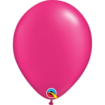 "Picture of HELIUM FILLED SINGLE 11"" BALLOON - PEARL MAGENTA"
