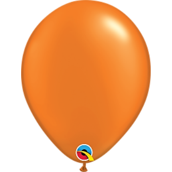 "Picture of HELIUM FILLED SINGLE 11"" BALLOON - PEARL ORANGE"