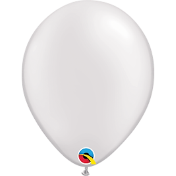 "Picture of HELIUM FILLED SINGLE 11"" BALLOON - PEARL WHITE"