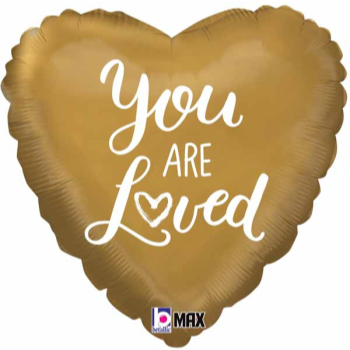 "Picture of 18"" FOIL - YOU ARE LOVED"