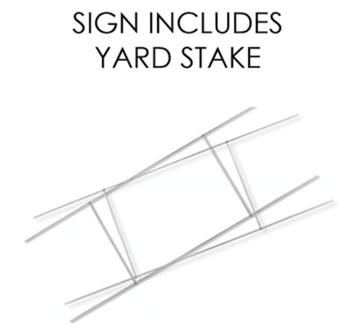 Picture of LAWN YARD SIGN - GRAD QUARANTINE