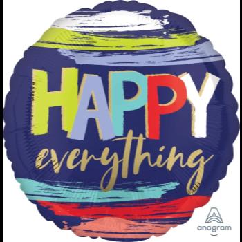 "Image de 18"" FOIL -  HAPPY EVERYTHING"