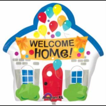"Image de 18"" FOIL - WELCOME HOME"