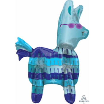 """Picture of 24"""" TABLETOP - BATTLE ROYAL  '' INSPIRED BY FORTNITE '' LLAMA FOIL BALLOON - AIR FILLED"""