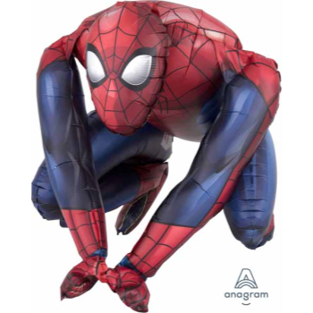 "Picture of 15"" TABLETOP - SPIDERMAN FOIL BALLOON - AIR FILLED"