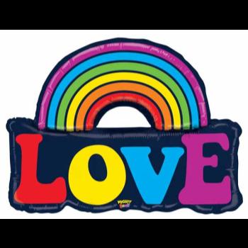 Image de MIGHTY LOVE RAINBOW SUPERSHAPE