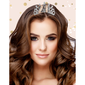 Picture of 21st ROSE GOLD TIARA
