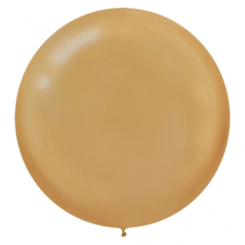 "Picture of 24"" GOLD LATEX BALLOONS - 25CT"